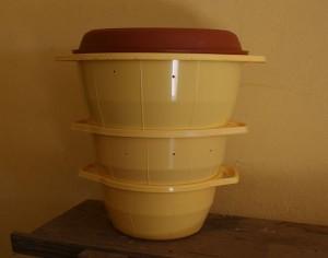 lombricultura en recipientes